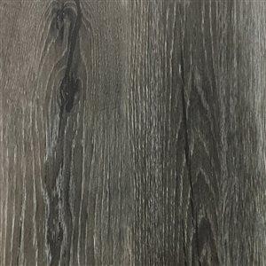Cryntel SelectionsPlus Stormy Grey 2-mm Peel-and-Stick Luxury Vinyl Tile Flooring  (6-in W x 36-in L)