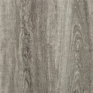 Cryntel SelectionsPlus Pewter 2-mm Peel-and-Stick Luxury Vinyl Tile Flooring  (6-in W x 36-in L)