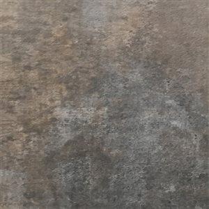 Cryntel Villafloor 12-in x 24-in Graphite Peel-And-Stick Luxury Vinyl Tile