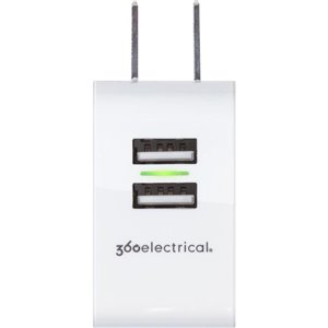 360 Electrical 0-Outlet 918.0-Joules Surge Protector with USB Charge