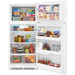 Frigidaire 18-cu ft Top-Freezer Refrigerator (White)