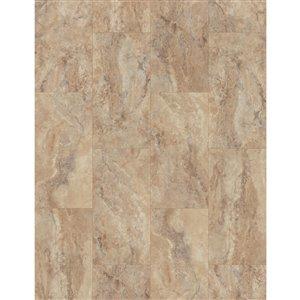 SMARTCORE Tivoli Travertine 7.5-mm Luxury Vinyl Plank Flooring (11.97-in W x 23.62-in L )