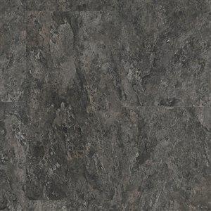 SMARTCORE Ultra Midnight Slate 7.5-mm Luxury Vinyl Plank Flooring (11.97-in W x 23.62-in L)