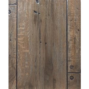48-in x 8-ft Embossed Caribou Oak Gray Wall Panel