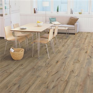 natural floors Vintage Traditions 1/2-in Thick Toasted Oak Oak Engineered Hardwood Flooring (7-1/2-in Wide x Various Lengths)