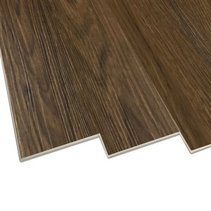 DURACLIC Black Walnut 6-mm Luxury Vinyl Plank Flooring  (7.1-in W x 48-in L)