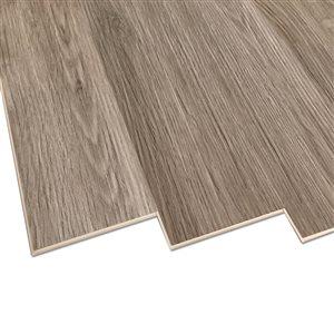DURACLIC Riverstone Oak 6-mm Luxury Vinyl Plank Flooring (7.1-in W x 48-in L)