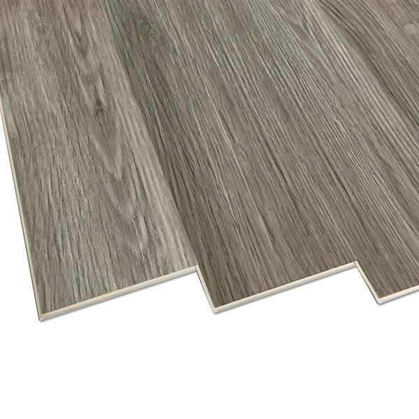 Duraclic Mystic Grey Oak 6 Mm Luxury Vinyl Plank Flooring 7 1 In W X 48 In L Lowe S Canada