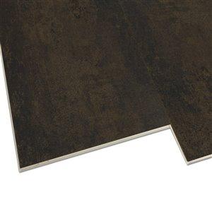 DURACLIC Iron Stone Granite 5-mm Luxury Vinyl Plank Flooring (11.8-in W x 23.6-in L)