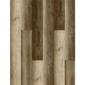 Avenzo Enduro Brown Walnut 5-mm Luxury Vinyl Plank Flooring (7.1-in W x 48-in L)