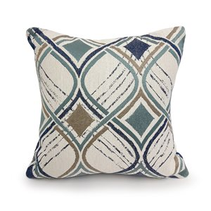 allen + roth PLAYFUL HERITAGE CUSHION PATTERN