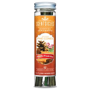 ScentSicles ScentSicles Spiced Pine Cones 6 pc. Bottle