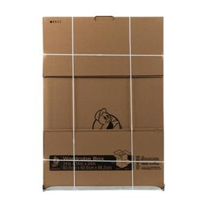 Duck X-Large Heavy Duty Recycled cardboard Wardrobe Moving Box (Actual 24-in x 34-in)