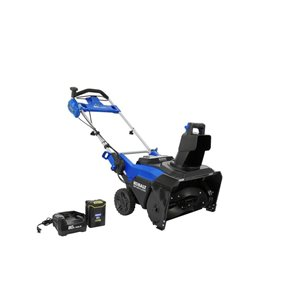 Kobalt 80-Volt Max 22-in Single-Stage Push Cordless Electric Snow Blower (1-Battery Included)