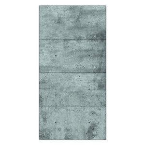 MURdesign 48-in x 8-ft Concrete Effect Panel