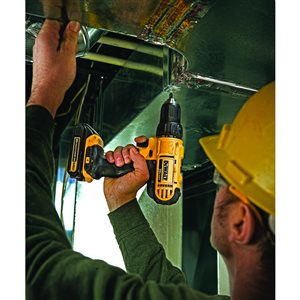 DEWALT 20-Volt Max 1/2-in Variable Speed Brushless Cordless Drill (2 -Batteries Included and Charger Included)