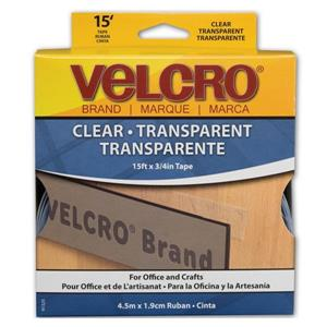 15-ft x 3/4-in Clear Hook and Translucent Tape