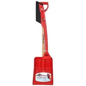 Garant 9 Poly Snow Shovel with 38-in Poly-Handle