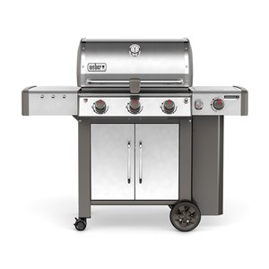 Weber Genesis II LX S-340 3-Burner (43,500 BTU) Liquid Propane Gas Grill with Side Burner (61004001)