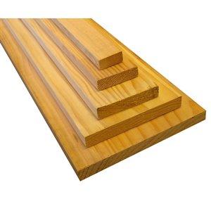1 x 8 x 6 Kiln-Dried Douglas Fir Softwood Board