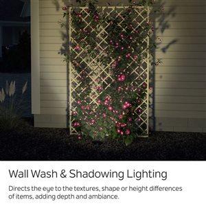 Kichler 5-Watt (40 W Equivalent) Olde Bronze Low Voltage Plug-in LED Landscape Flood Light
