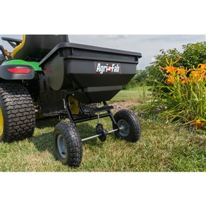 Agri-Fab 85-lb Capacity Tow Behind Lawn Spreader