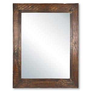 Columbia Frame Cobbler Supreme Rustic Wood Mirror
