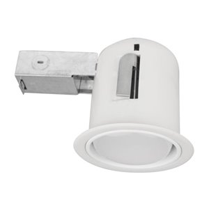 BAZZ LED RECESSED FIXTURE 8.75-in Hardwired Puck light