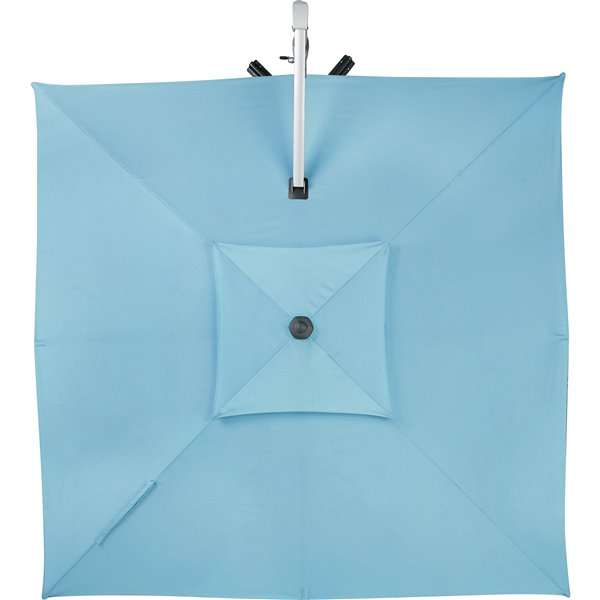 10 ft square offset patio umbrella blue