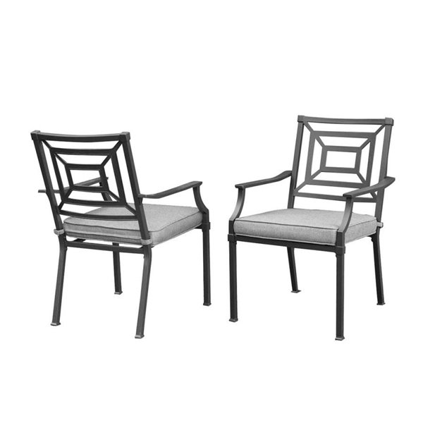allen + roth 2PC Dining Stationary Chairs L-DN2397SAL-C