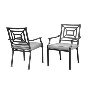 allen + roth 2PC Dining Stationary Chairs   Lowe's Canada