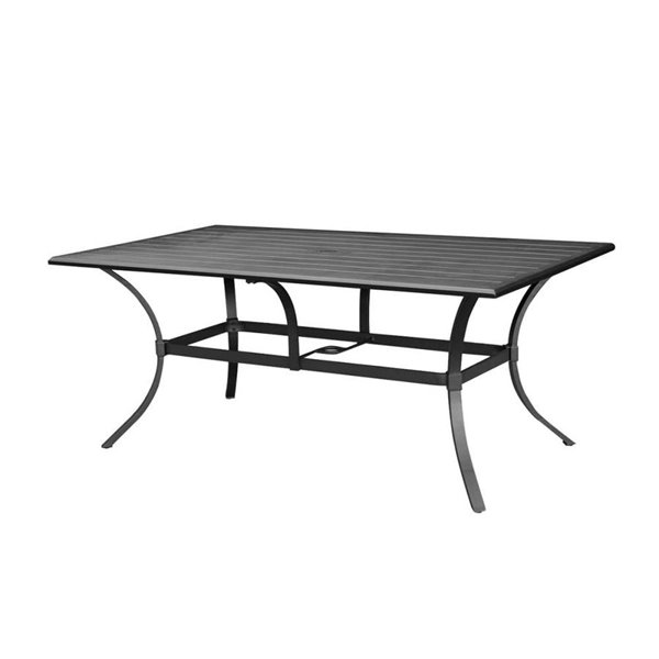 allen + roth Rectangular Dining Table L-DN2397SAL-T