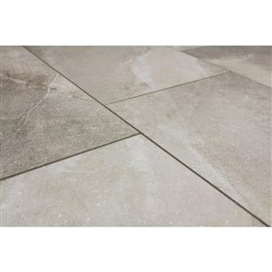 Style Selections 12-in x 24-in Palancia Pearl Porcelain Marble Floor and Wall Tile