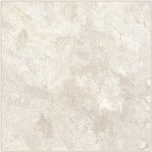 Cryntel ItaliaStone 12-in x 12-in Bianco Peel-And-Stick Stone Luxury Vinyl Tile