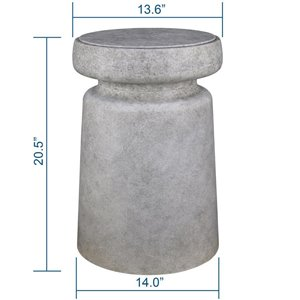 20.4-in Cement Plant Stand