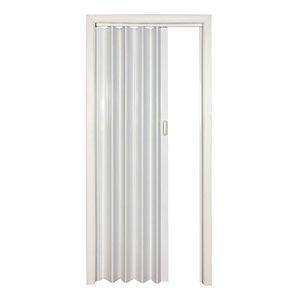 Spectrum 24-in to 36-in x 80-in Oakmont White Solid Core Folding Closet Door