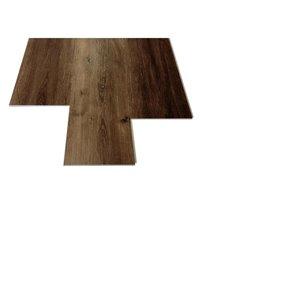 DURACLIC Smokey Mountain Oak 4.2-mm Luxury Vinyl Plank Flooring (7.1-in W x 48-in L)