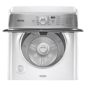 Maytag 5.4 Cu Ft High-Efficiency Top-Load Washer (White)