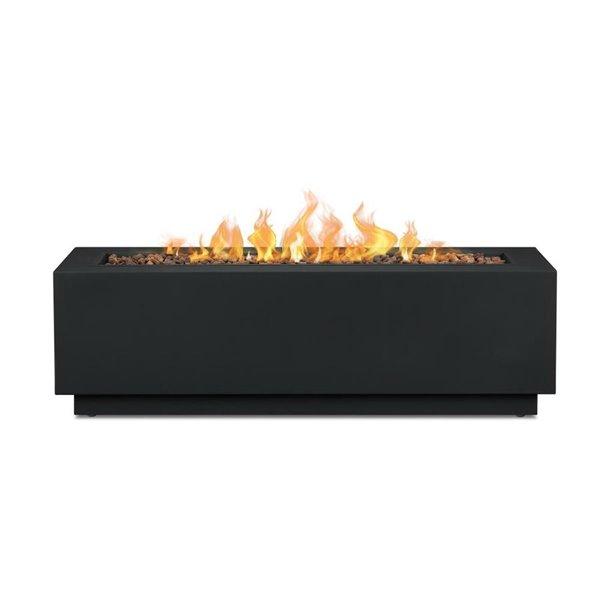 Real Flame Lanesboro Outdoor Fireplace Propane Gas 48 In 50 000 Btu Lowe S Canada