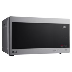 LG 0.9 cu. ft. NeoChef Countertop Microwave with Smart Inverter and EasyClean (Stainless Steel)