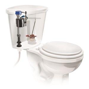 3-in Dia. Universal Fit Toilet Repair Kit - Flapper & Fill Valve