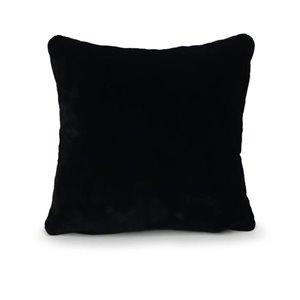 allen + roth Mink Faux Fur Cushion