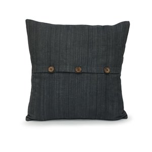allen + roth Woven Cushion with Buttons