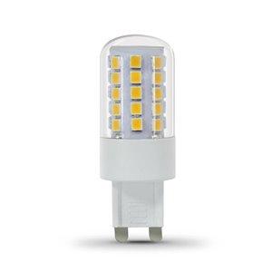 Feit Electric 40-Watt/500 Lumens G9 Pin Base Dimmable T4 LED Light Bulb (1-Pack)