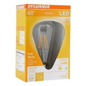 SYLVANIA LED ST19 6.5W Dimmable 80CRI 800 Lumen 2700K 15000 Life