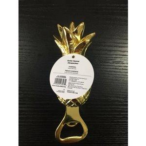 allen + roth Zinc Alloy Gold Pineapple Opener