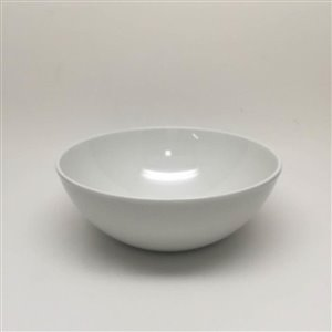 allen + roth White Belly Salad Bowl