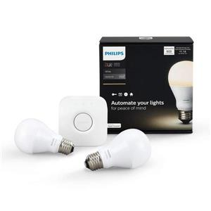 Hue White A19 Smart Led Bulb Starter Kit Lowe S Canada
