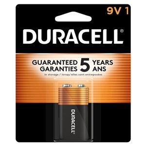 Duracell Coppertop PP3 (9V) Alkaline Battery