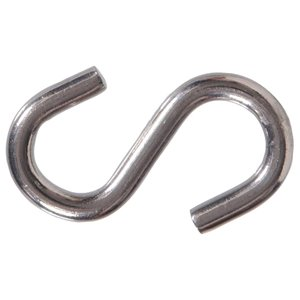 Hillman 2-Pack 2.5-in Stainless Steel S Hooks